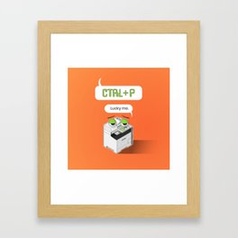 Designer's Best Friend Framed Art Print