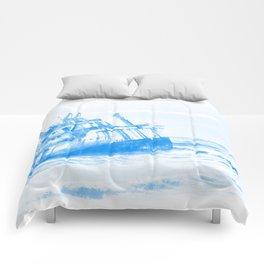 shipwreck aqrewb Comforters