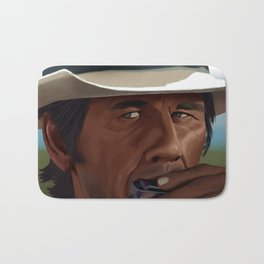 Once Upon a Time in the West: Charles Bronson Bath Mat