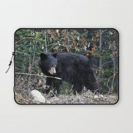 Black Bear cub Laptop Sleeve