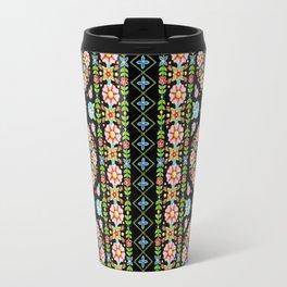 Boho Chic Stripe Travel Mug