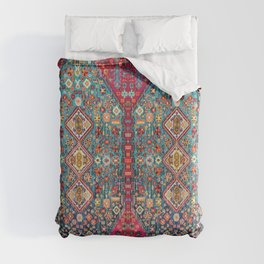N131 - Heritage Oriental Vintage Traditional Moroccan Style Design Duvet Cover