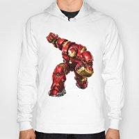 iron man Hoodies featuring IRON MAN IRON MAN by Smart Friend