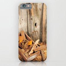 Rusted tools iPhone 6s Slim Case