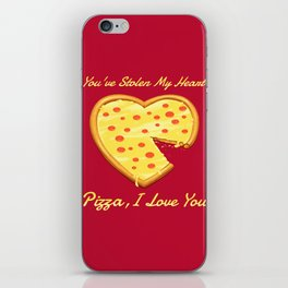 You've Stolen My Heart iPhone Skin