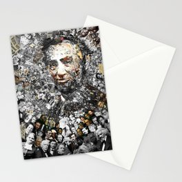 """Rendering Myself Worthy"" Abraham Abe Lincoln. Stationery Cards"