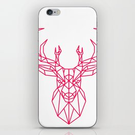 Reindeer Christmas Gift Sledge Funny iPhone Skin