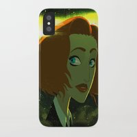 scully iPhone & iPod Cases featuring Scully  by Annalisa Leoni