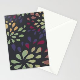 Dark drops 2 Stationery Cards