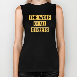 The Wolf Of All Streets Business Success Biker Tank