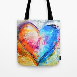 The Patience of Love Tote Bag