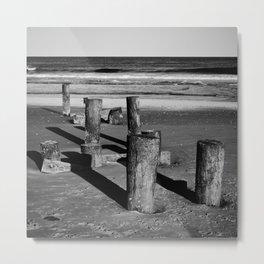 Belmar Beach. Metal Print