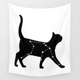 Aquarius Cat Wall Tapestry