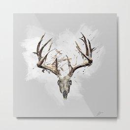 King of the Forrest - Trophy Buck - Deer Metal Print