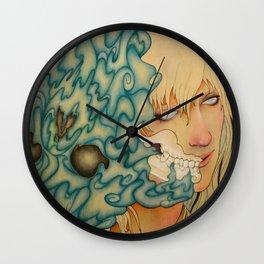 Seeping Wall Clock