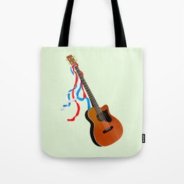 Acoustic Bass Tote Bag