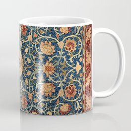 William Morris Floral Carpet Print Coffee Mug