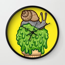 Snail Cone Wall Clock
