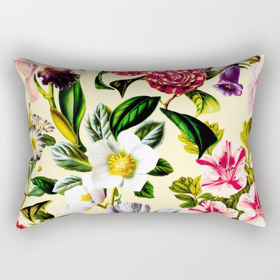 SUMMER BOTANICAL X Rectangular Pillow