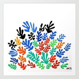 Henri Matisse - The Sheaf, Harvest Bundles of Grain Stalks portrait painting Art Print