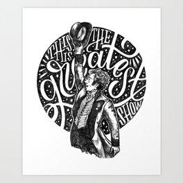 The Greatest Show Art Print
