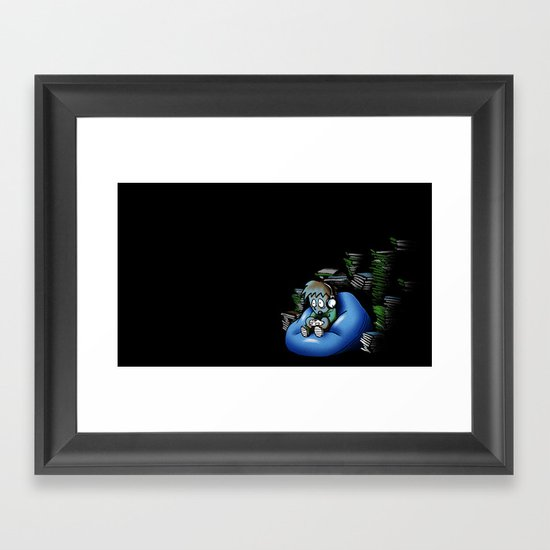 Backlog Framed Art Print
