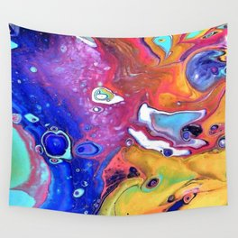 Wild and Crazy Art Flow Wall Tapestry