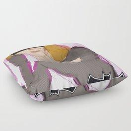 The Cat Woman Floor Pillow