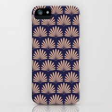 Blue & Peach Daisies iPhone (5, 5s) Slim Case