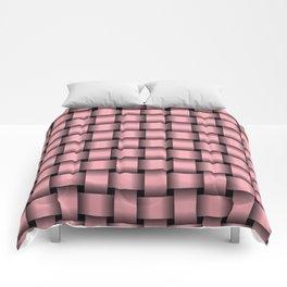 Pink Weave Comforters