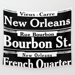 NEW ORLEANS FRENCH QUARTERS Wall Tapestry