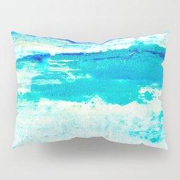 Aquamarine Waves  Pillow Sham