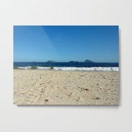 Ipanema Beach #02 Metal Print