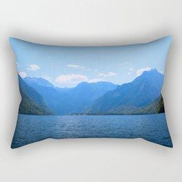 Koenigssee Lake with Alpes Mountains 2 Rectangular Pillow