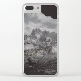 Fog in the Mountain Clear iPhone Case