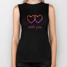 With You Biker Tank