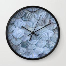 Elegant Seashells Wall Clock