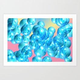 Blubber Art Print
