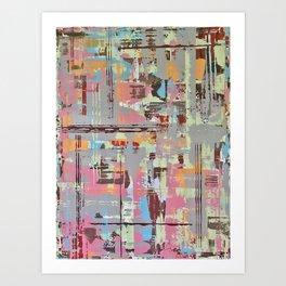 The plan Art Print