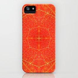 Maple Leaf Symmetry iPhone Case