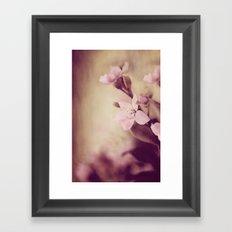 Pink Sentiments Framed Art Print