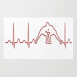 WRESTLER'S HEARTBEAT Rug