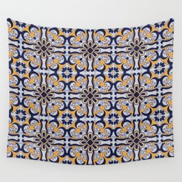Portuguese tile Wall Tapestry