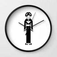 bjork Wall Clocks featuring Bjork by Band Land
