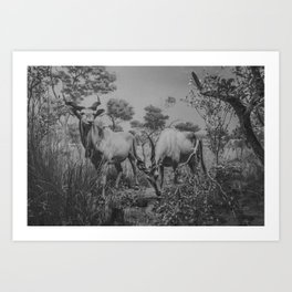 ANIMALS I Art Print