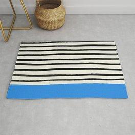 Ocean x Stripes Rug