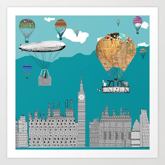 adventure days london  Art Print