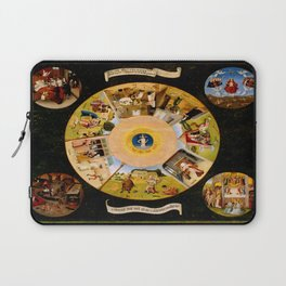 The Seven Deadly Sins and The Four Last Things Laptop Sleeve