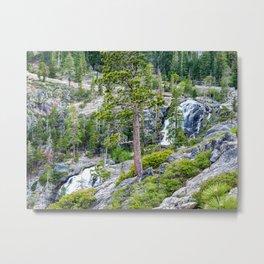 Eagle Falls, Emerald Bay, Lake Tahoe Metal Print