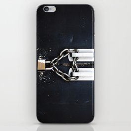 Locked by Love iPhone Skin